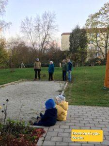 Boule im K.rothgarten